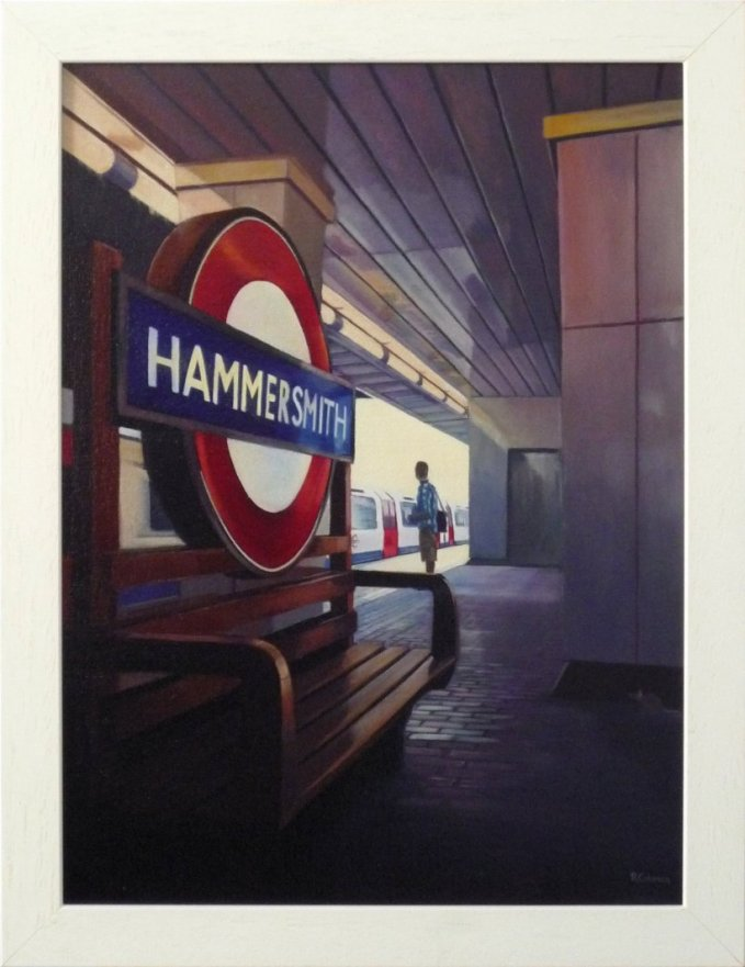 Hammersmith (original painting, framed)