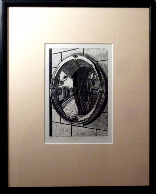 Angles of Incidence: Lancaster Gate (framed)