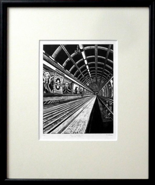 View Subterranea 8: Bethnal Green (framed)