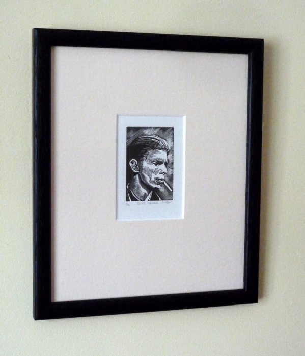 Bowie - Thinker (framed)