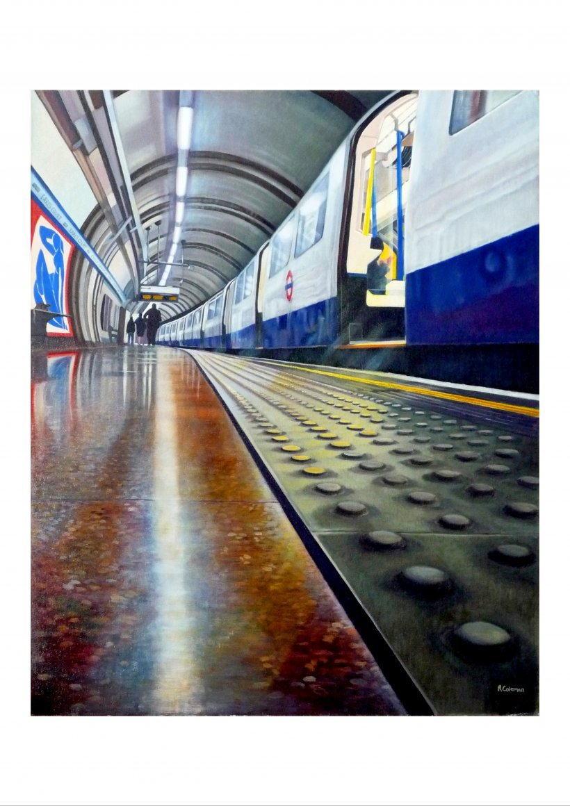 Earls Court (giclee print)