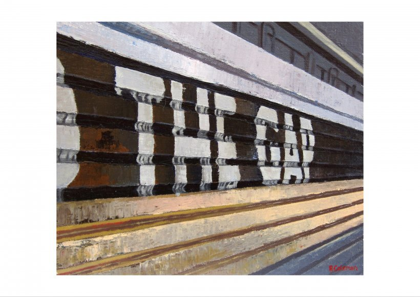 Mind The Gap 8 (giclee print)