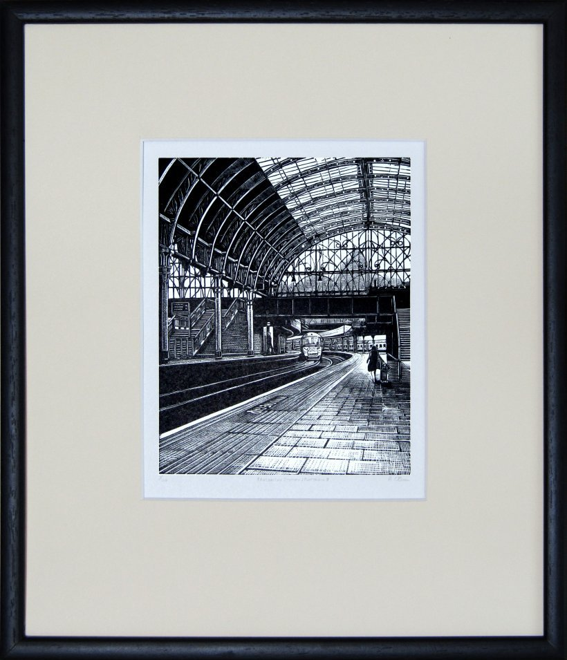 Paddington Station: Platform 8 (framed)